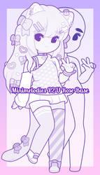 P2U Rose Base by MiniMelodies