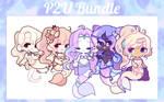 [P2U] Mermaid Bundle by MiniMelodies