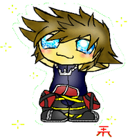 Lovable Sora Chibi by Pioxys