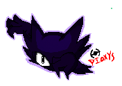 Haunter Iscribble Pixel (Sorta) by Pioxys