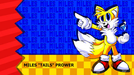 The 2-Tailed Icon (Tails Wallpaper)
