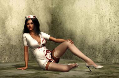 Nurse by evilpoisongirl