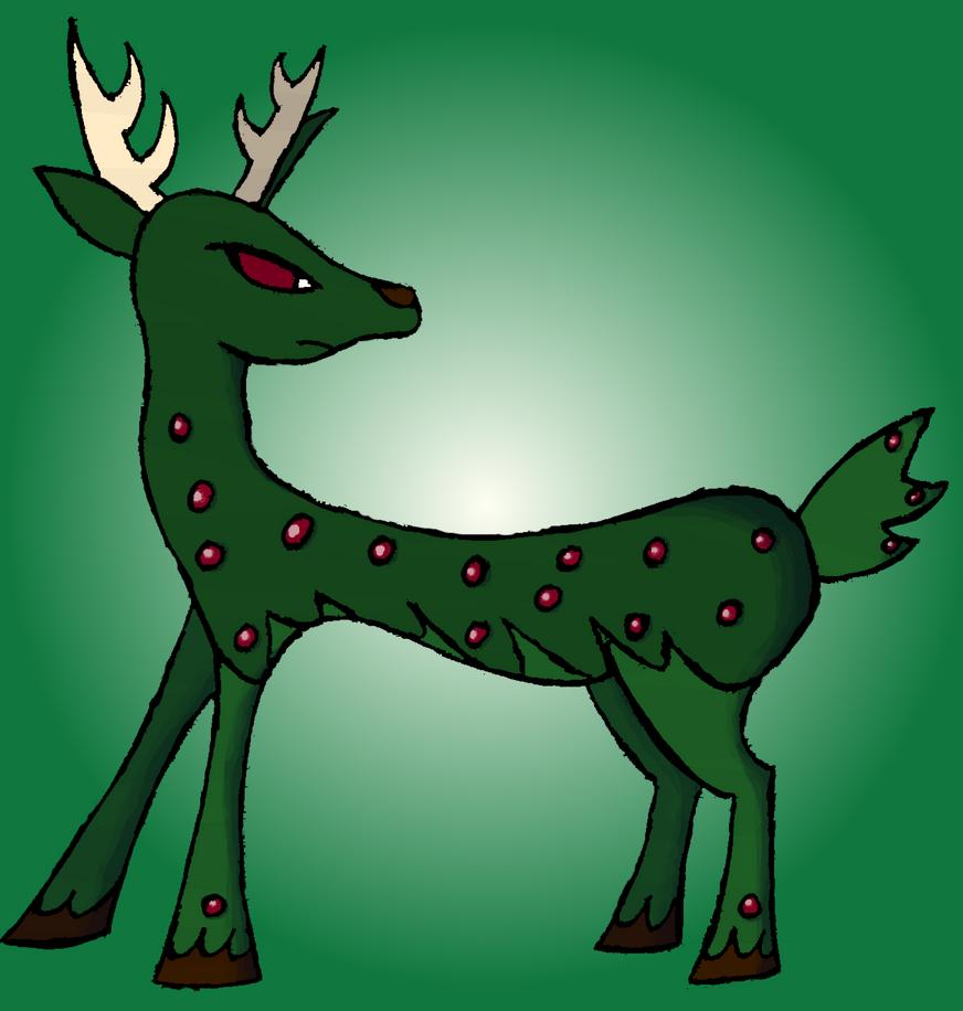Udoetan, the Deer Pokemon 002 by Gominod