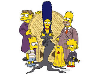 The Addam-Simpson Family by foxyjake