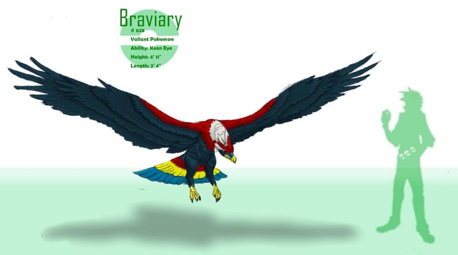 -Braviary- by DeeJaysArt1993