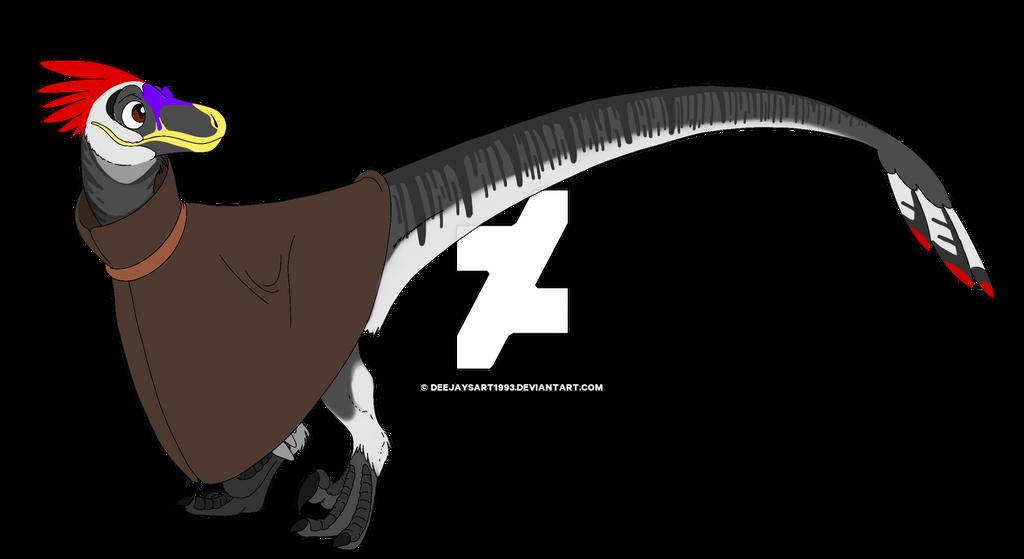 Deejay the Raptor by DeeJaysArt1993