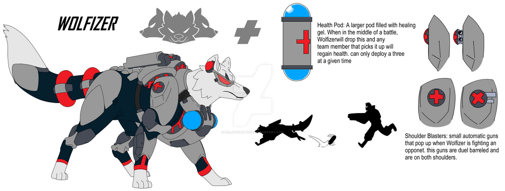 Overwatch Wolfizer By Deejaysart1993 On Deviantart