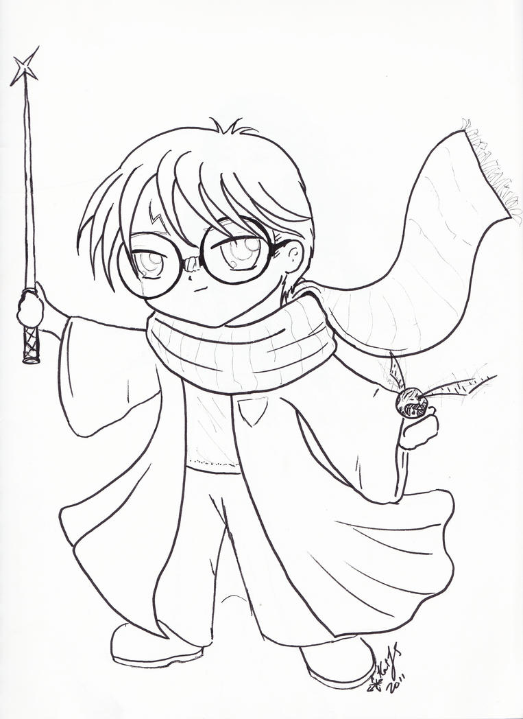 Color Harry Potter By Reizezdewickid On DeviantArt