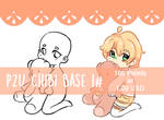 P2U Chibi base 1# (lowered price) by Aesthetic-Peach