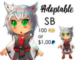 Adoptable Auction #3 | OPEN | 100 Points SB by Aesthetic-Peach