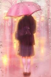 Sunset Rain by minton16