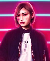 Garasu Wo Shida Manaka 1.0 by minton16