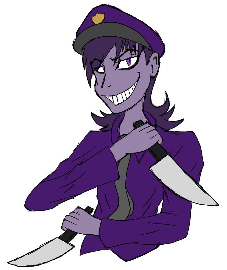 Purple man fnaf and purple on pinterest