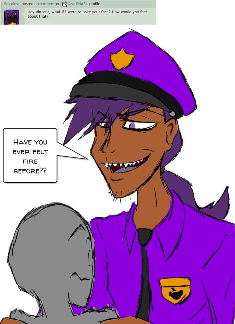 Fire ask vincent purple guy by ask fnaf on deviantart