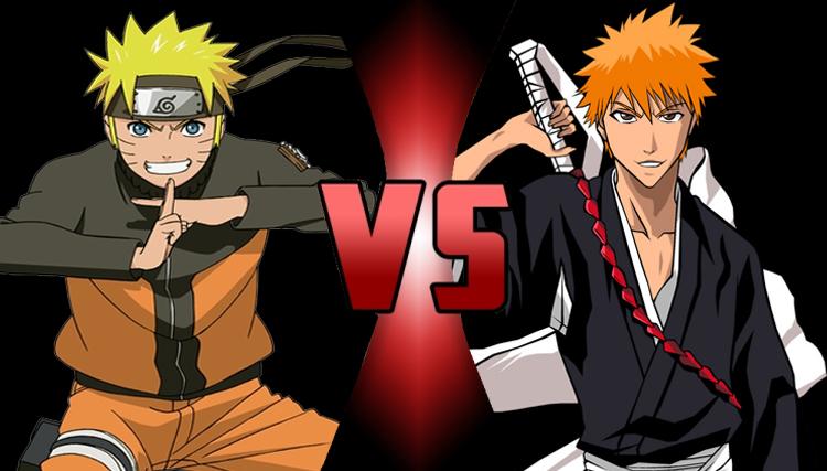 Naruto Uzumaki vs. Ichigo Kurosaki by Gohan6425 on DeviantArt | 750 x 427 jpeg 210kB
