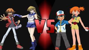 Jaden, Alexis vs. Ash, Misty