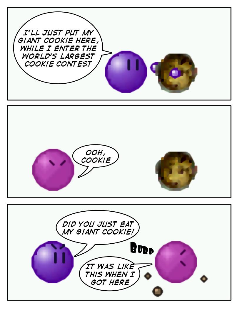 Emoticomic: Cookies by DanVzare