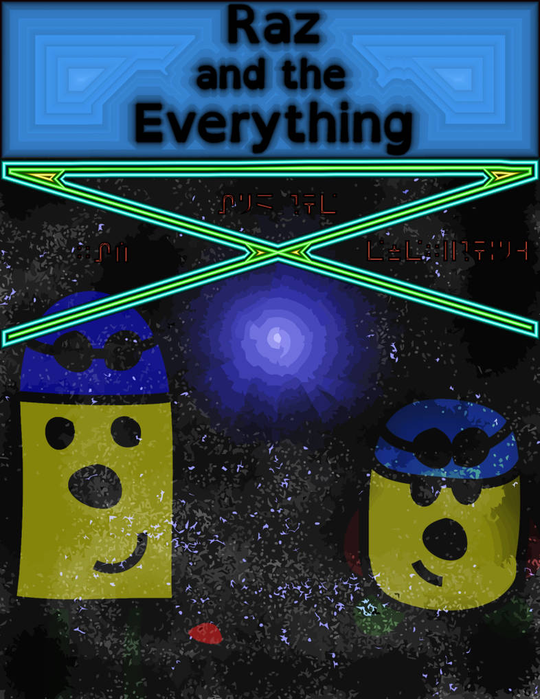 Raz and the Everything Cover