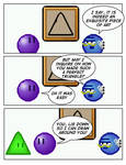 Emoticomic: Triangle by DanVzare