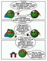Emoticomic: Hiding Behind Lies by DanVzare