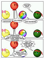 Emoticomic Remix: Rainbow by DanVzare