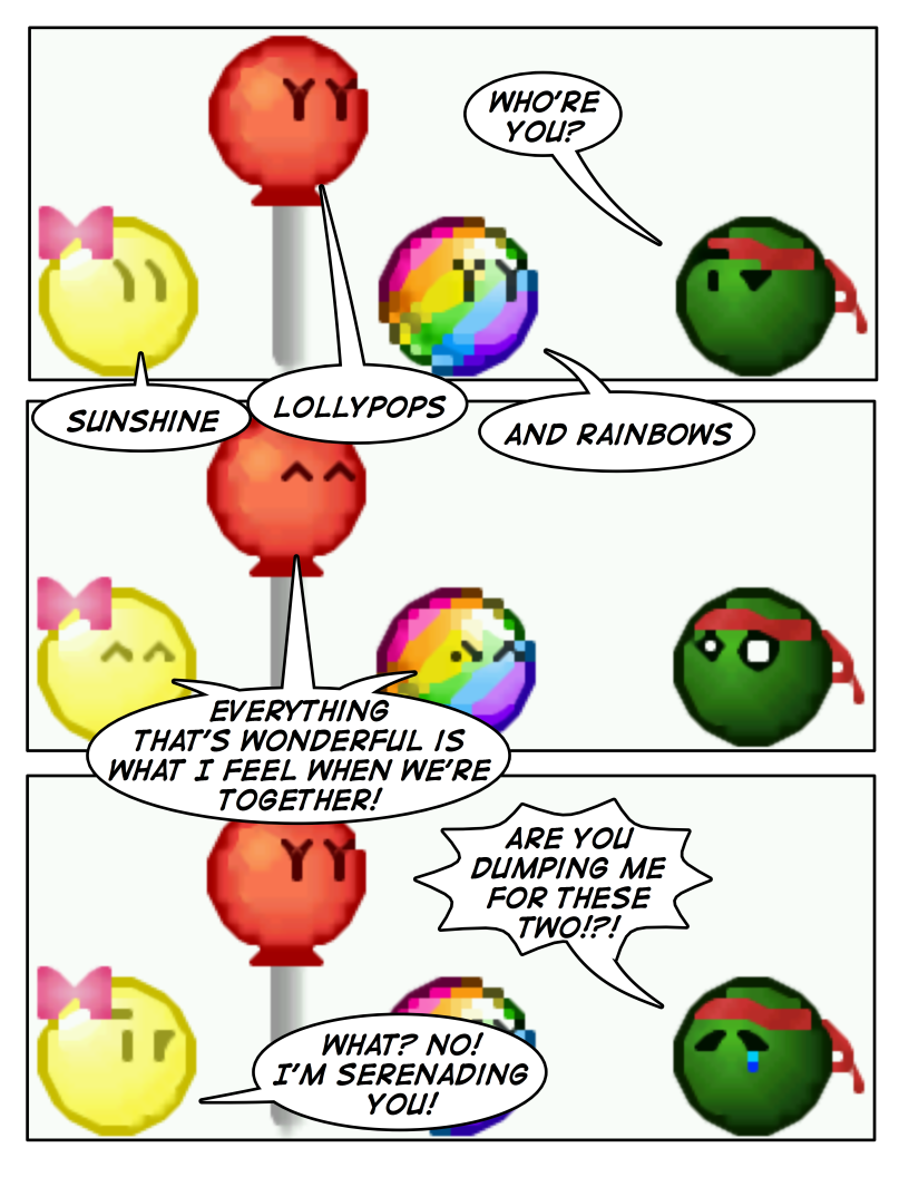 Emoticomic Remix: Rainbow by DanVzare