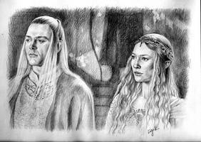 Lord and Lady by LiigaKlavina