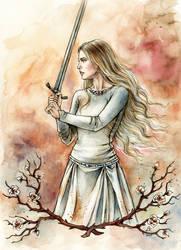 White Lady of Rohan by LiigaKlavina
