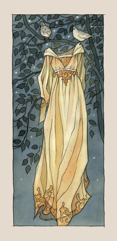 The third dress by liga-marta