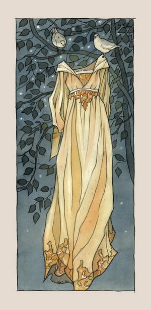 The third dress