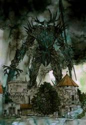 Dark defender by LiigaKlavina