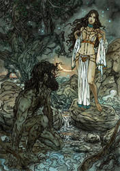 Shamhat and Enkidu