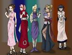 Naruto, the girls