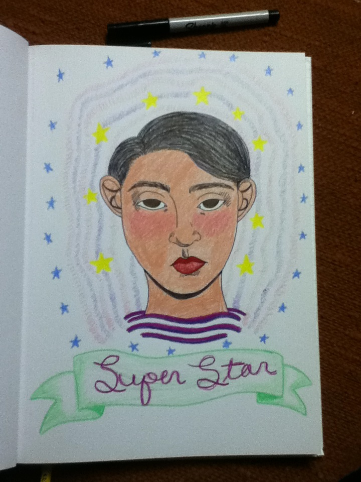 Super Star by kittenmoshpit