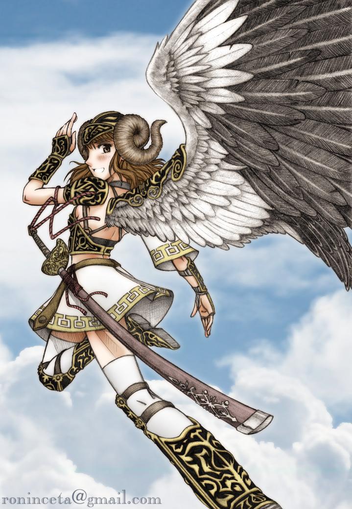 Guard angel by ceta on deviantart for Ponteggio ceta dwg