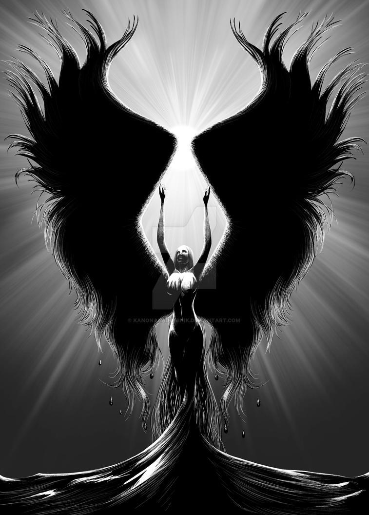 Crow by KANONakaDominik