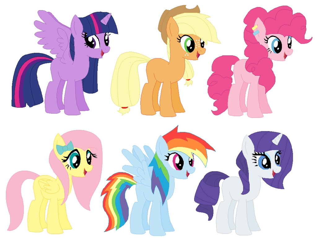 MLP Mane 6 MY STYLE By Ravenslpash26 On DeviantArt