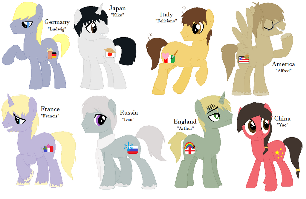 Mlp hetalia axis and allies by ravenslpash26 on deviantart mlp hetalia axis and allies by ravenslpash26 publicscrutiny Images