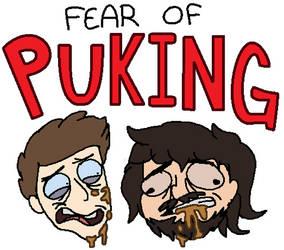 FEAR OF PUKING - Supermega SHIRT by Ravenslpash26