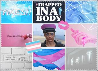 Transgender Kiki Chanel Aesthetic by Ravenslpash26