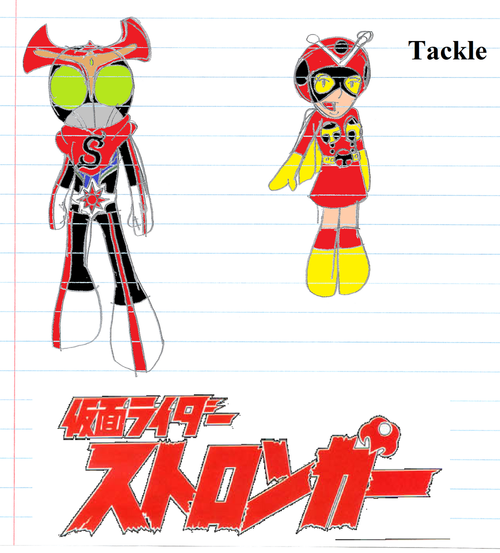 Kamen Rider Stronger And Tackle by werewolf90x on deviantART