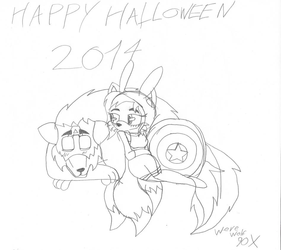 Happy Halloween 2014 by werewolf90x