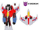 Transformers Omega Starscream