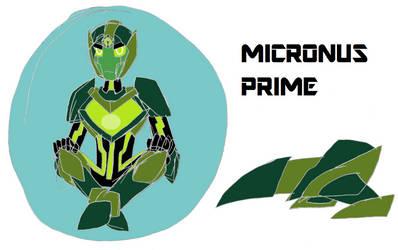 Transformers Omega Micronus Prime by werewolf90x