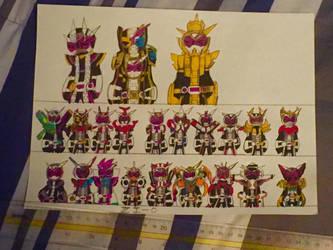 Kamen Rider Zi-O Zi-O Armor by werewolf90x