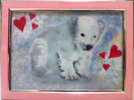 Traditional Painted Adoptables:Baby Polar Bear