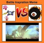 Kirby,MK,and Ribbon Vs Dark Matter inspiration