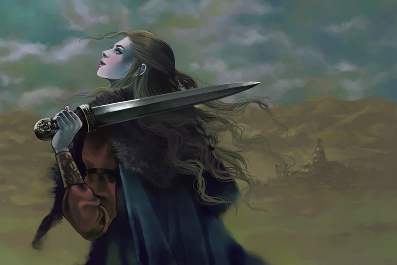 Shield Maiden by Maelstromarts