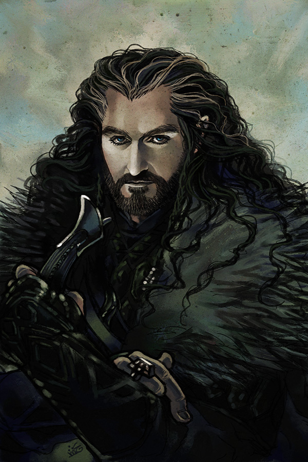 Thorin Oakenshield by Maelstromarts