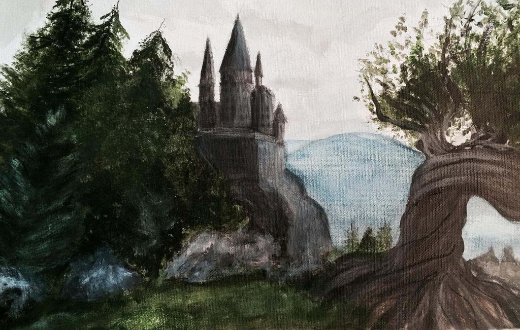 http://img09.deviantart.net/e358/i/2014/218/8/2/harry_potter__hogwarts_and_the_whomping_willow_by_raven_painter-d7tzkly.jpg
